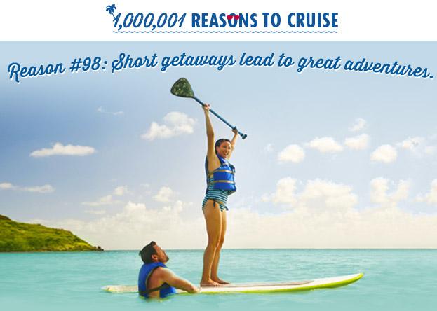 Reason #98: Short getaways lead to great adventures