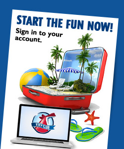 Start the fun now! Sign in to your account.